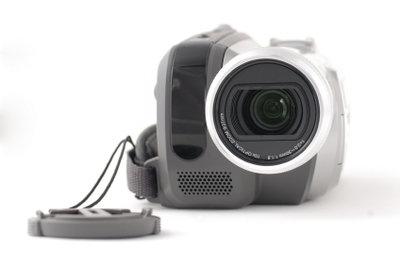 Ältere Camcorder arbeiten mit DV-Kassette.