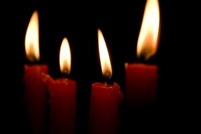 Eine tolle Idee Kerzenreste zu recyclen.