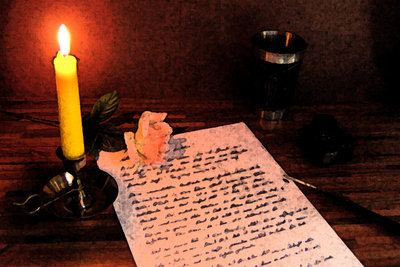 Ein Liebesbrief sollte handgeschrieben sein.