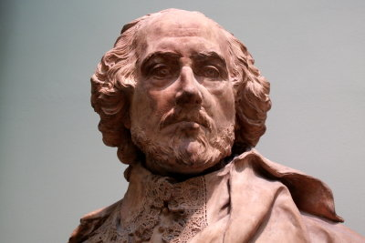 Shakespeare: der absolute Meister des Dramas.