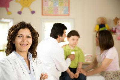 Der Beruf der Kinderarzthelferin ist schön.