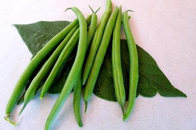 Genießen Sie jederzeit gartenfrische Bohnen.