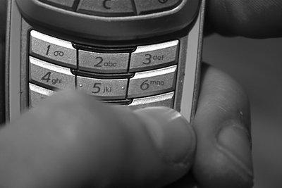 Telefonnummern am Handy unterdrücken.