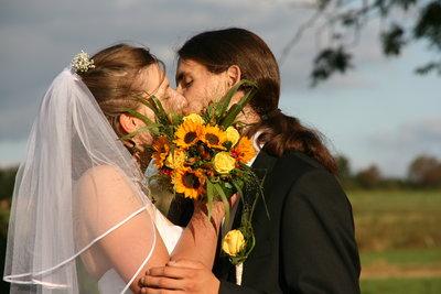 Ein Kuss kann Leidenschaft auslösen.