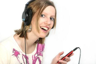 Musik lässt sich sehr einfach übertragen.