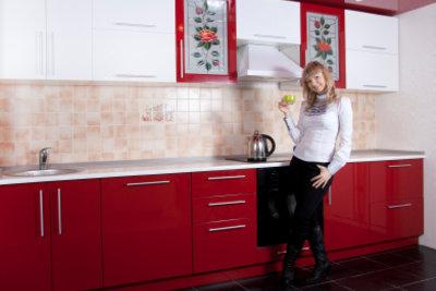 Küchenfronten mit Folie bekleben