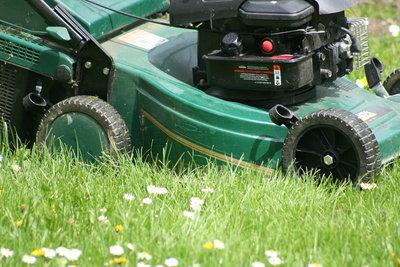 Der Rasenmäher sollte nicht immer ausgehen