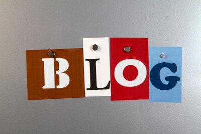 Der Blog im Internet.