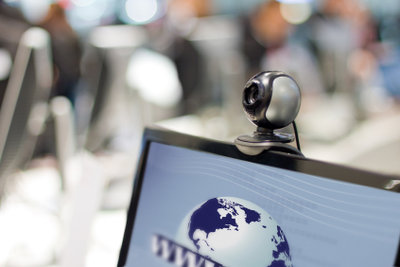 HD-Webcams ermöglichen hochauflösende Videotelefonie.