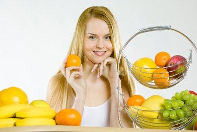Rohkost ist reich an Vitaminen.