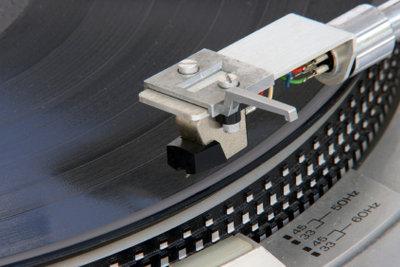 Vinylplatten sind wieder in.