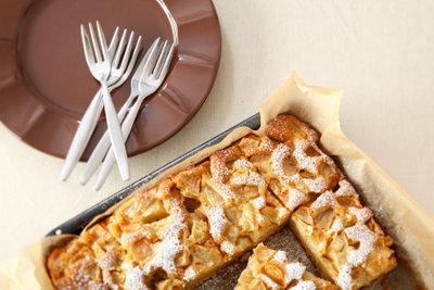 Apfelkuchen wie zu Omas Zeiten zaubern.