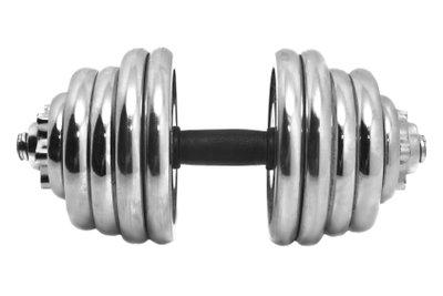 Hanteln können flexibel eingesetzt werden.
