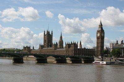 London ist ein beliebtes Reiseziel.