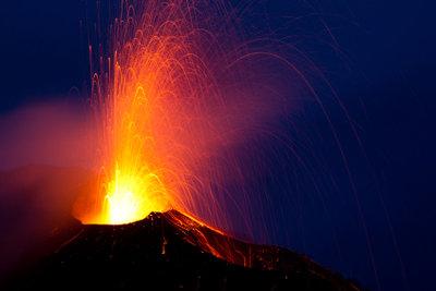 Einen eigenen Vulkan bauen