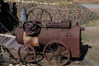 Dampfmaschinen sind große Erfindungen der Neuzeit.