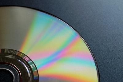 Eine CD lässt sich einfach reparieren.