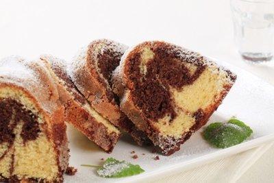 Auch ein Low-Carb-Kuchen schmeckt lecker.