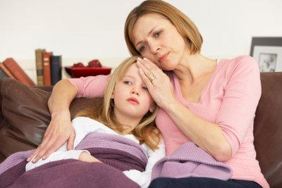 Kinder brauchen bei Misserfolgen Trost.