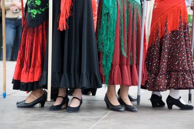 Hosenröcke liegen im Trend.