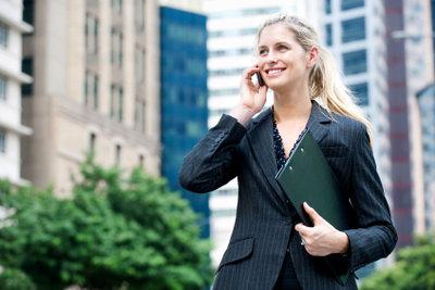 Das Handy als wichtiges Arbeitsinstrument