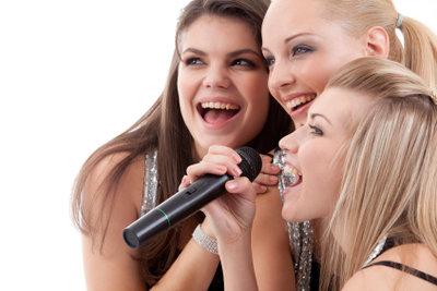 Singen macht locker.