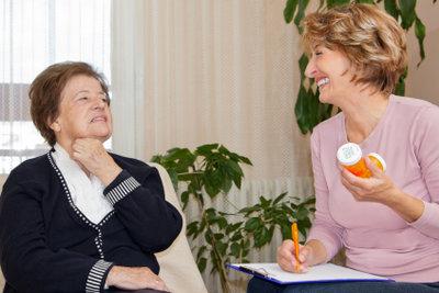"""""""Gesetzliche Betreuung"""" betrifft häufig ältere Menschen."""
