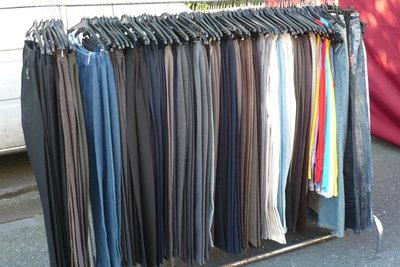 Braune Hosen sind modisch