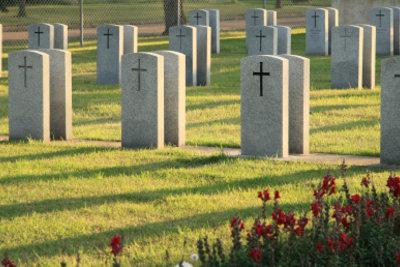 Den Verstorbenen zum Gedenken.