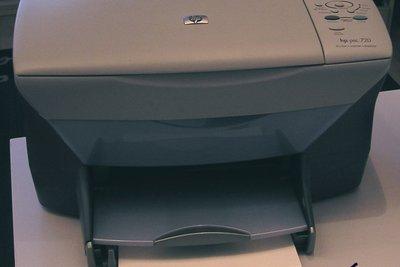 Wenn der Drucker Streifen macht