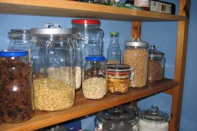 Schützen Sie Ihre Lebensmittel vor Motten.