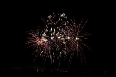 Feuerwerk als Ritual an Silvester