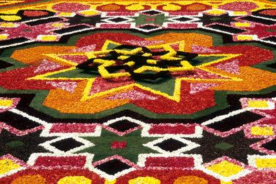 Ein Teppich als wahres Kunstwerk