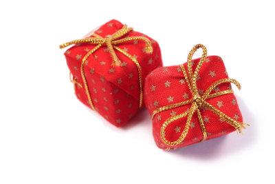 Kleine Päckchen als Kalender
