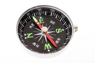 Trotz Magnetkompass ins Ziel kommen.