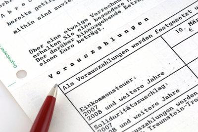 Steuererklärung ohne Quittungen?