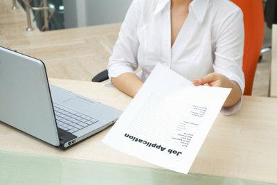 Auch formlose Bewerbungsschreiben müssen korrekt sein.