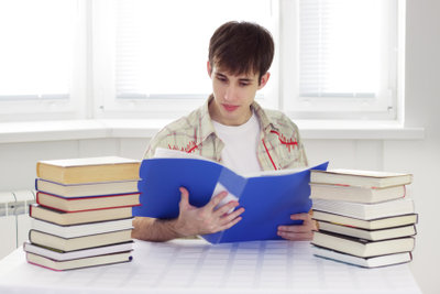 Ein Blick auf das Klassenbuch