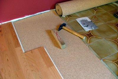 Holzboden im Bad muss gut überlegt sein.