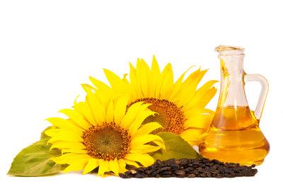 Sonnenblumenöl eignet sich bedingt zum Braten.