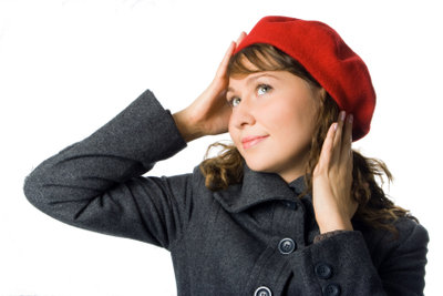 Ein Hut versteckt fettige Haare.