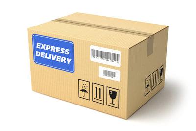 Der Paketstandort kann nachgeforscht werden.