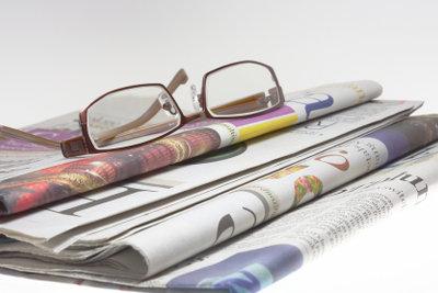 Ein guter Zeitungsbericht wird auch veröffentlicht.