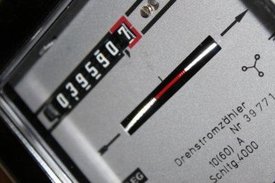 Einen Stromzähler zur Kontrolle verwenden