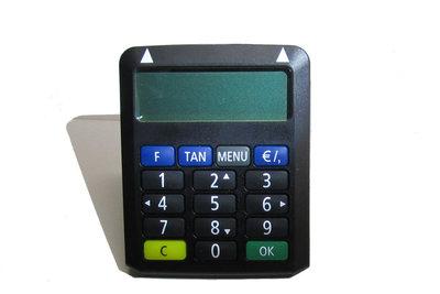 Der TAN-Generator der Volksbank funktioniert einfach