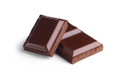 Schokolade kann im Handgepäck mitgenommen werden.