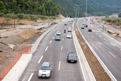 Ausbildungsfahrten auf der Autobahn.
