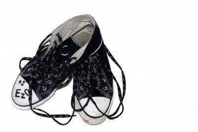 Canvas Schuhe lassen sich auch in der Waschmaschine waschen.