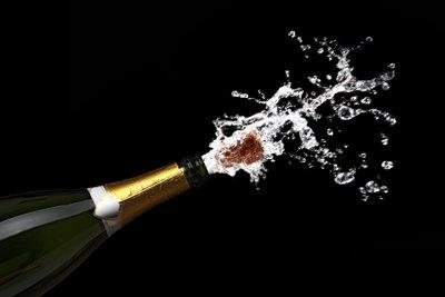 Prickelnde Getränke schaffen eine lockere Stimmung.