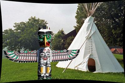 So wird der Garten zum Indianerstamm